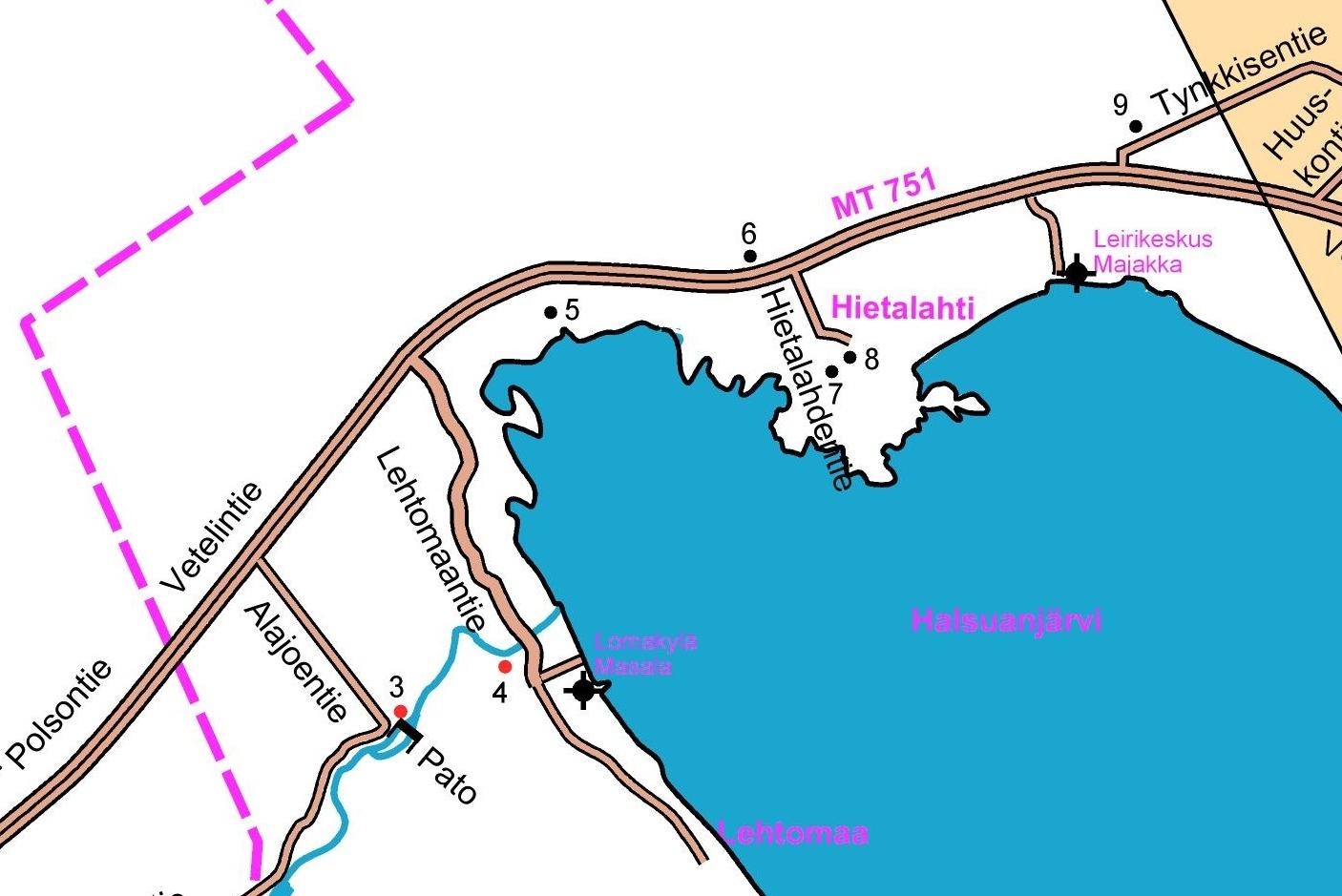 Hietalahden kartta