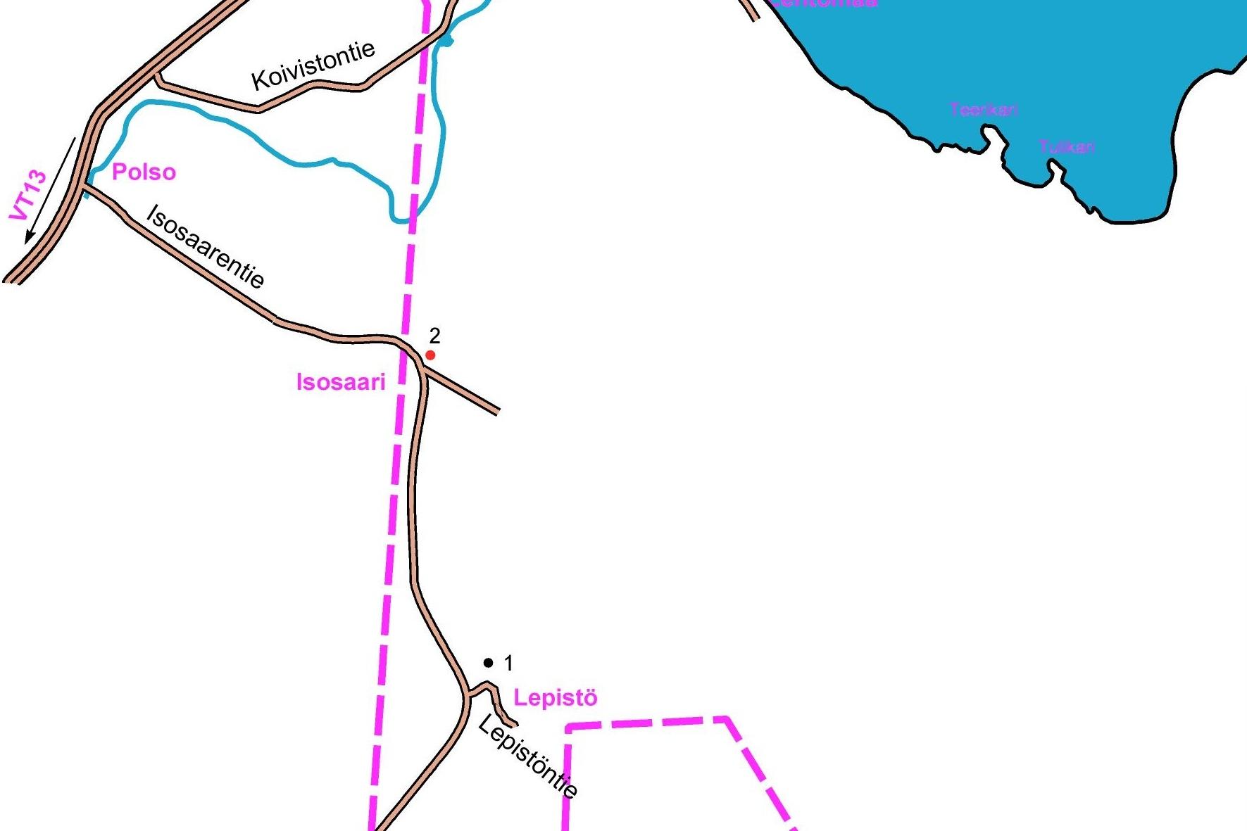 Lepistön kartta