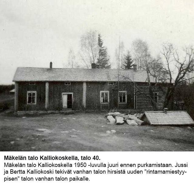 Talo 40. Mäkelä