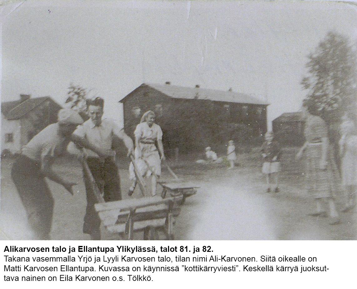 Talo 81-82 Alikarvonen ja ellantupa
