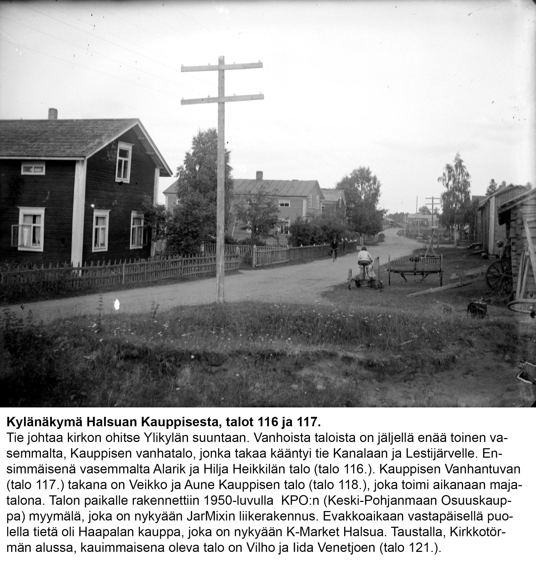 Talo 116, 117 Kauppisen talot