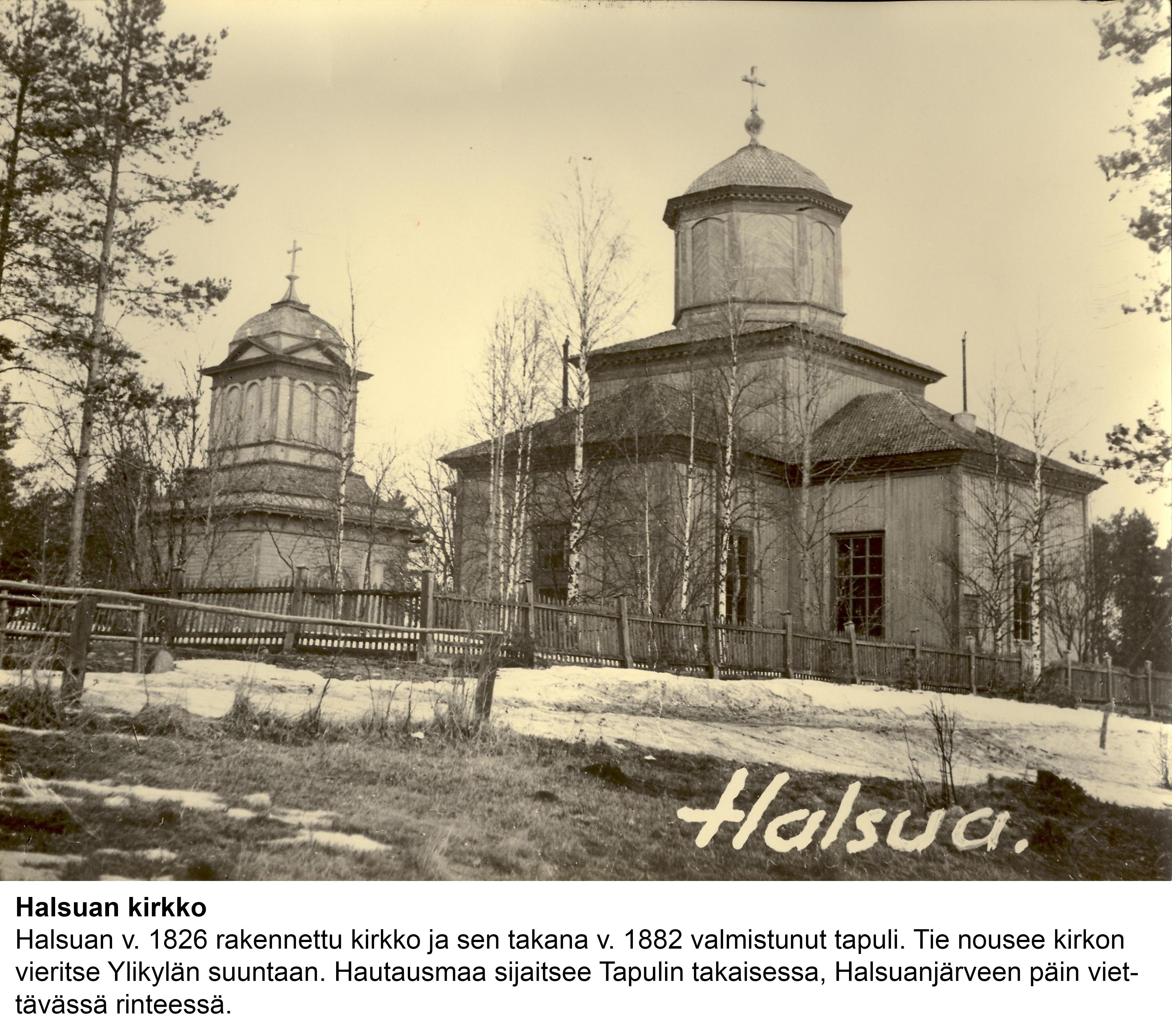 Talo 121. Halsuan kirkko
